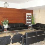 Ассута Тель-Авив - зал ожидания