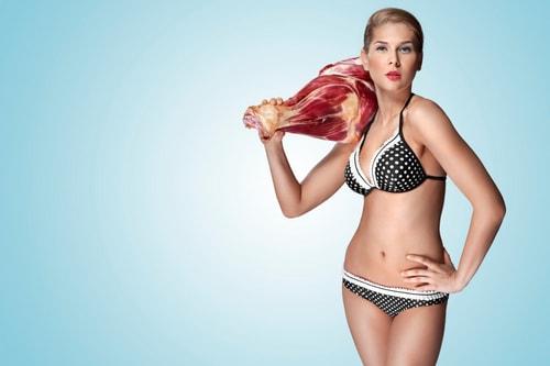 мясо и рак груди