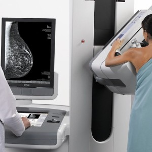 Breast tomosynthesis mammography (3D mammogram)